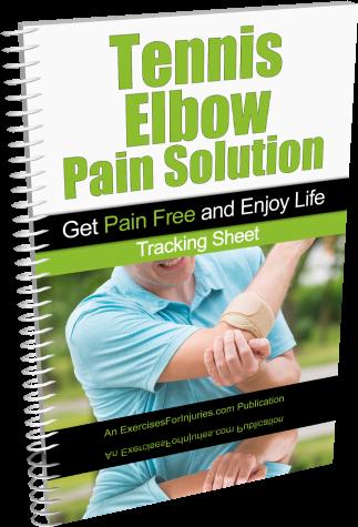 tennis elbow stretching exercises pdf